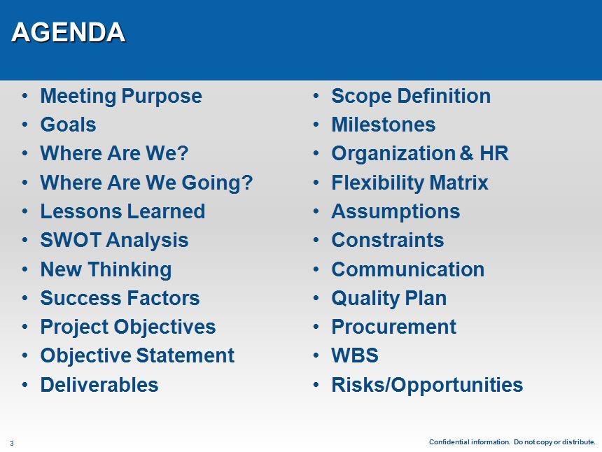2018 EHS&S Management Forum Agenda